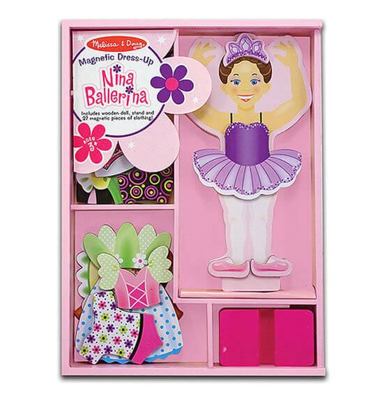 Boneca Magnética Bailarina