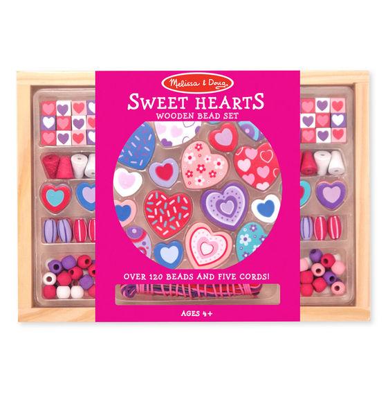 Caixa Missangas Corações