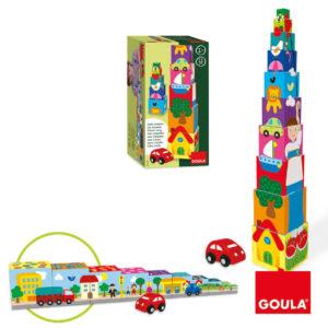 Torre de Empilhar Com Carro