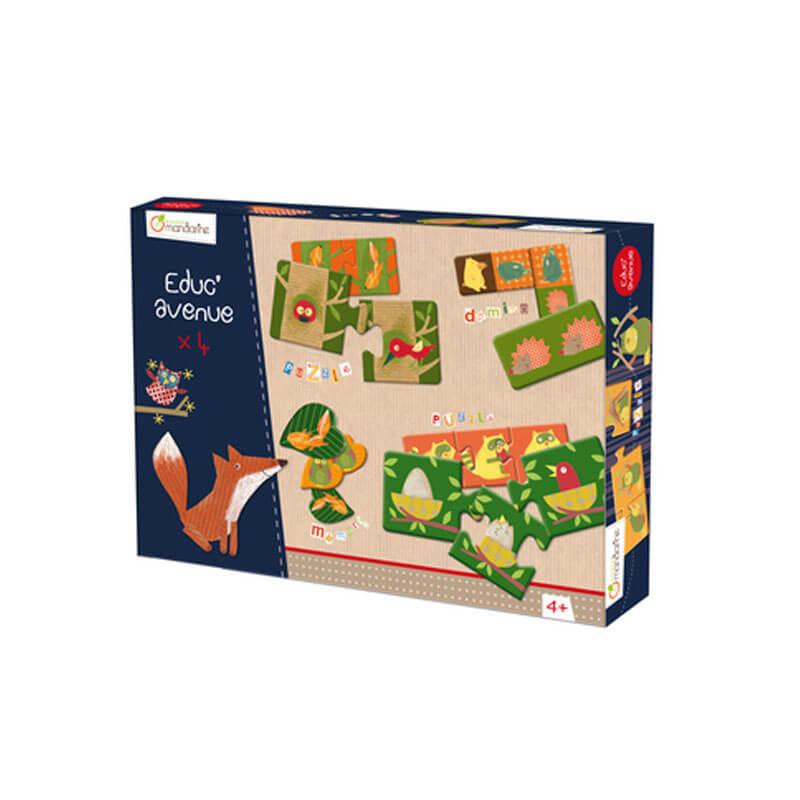 Caixa de Jogos - Floresta