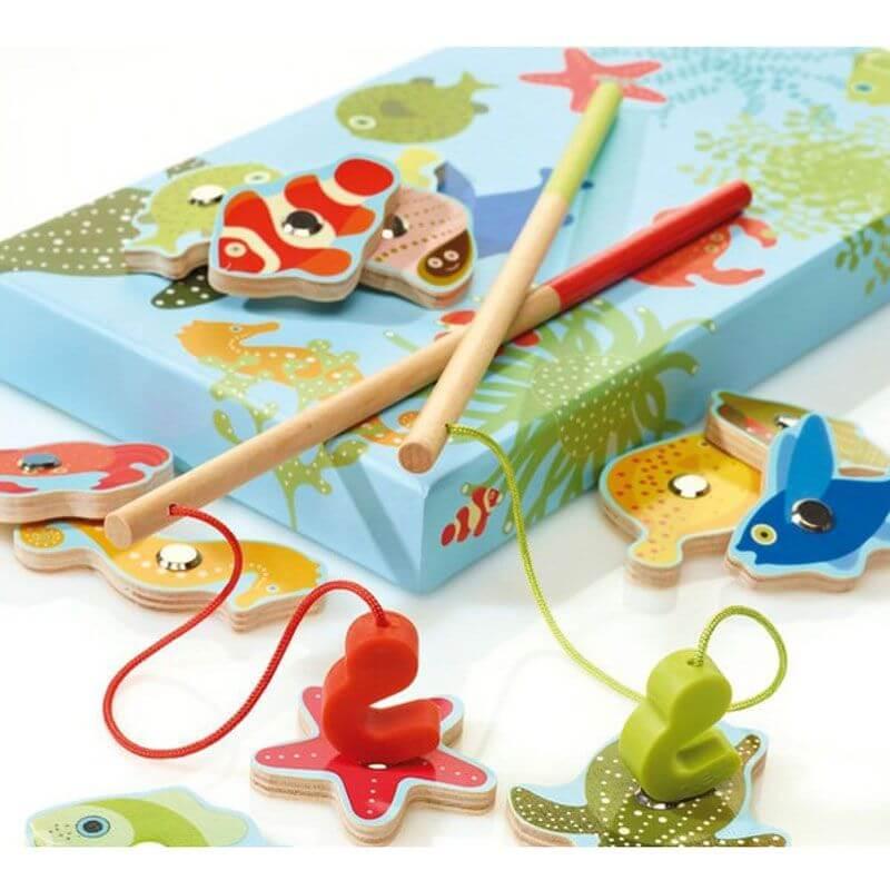Jogo da Pesca Animais do Mar