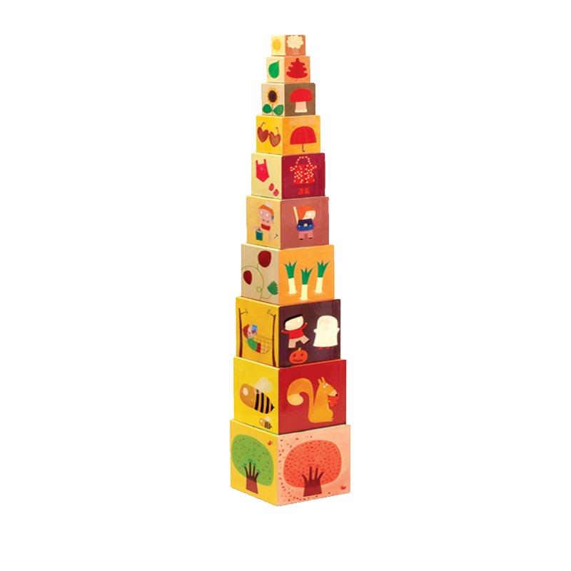 Torre de Empilhar 4 Estações