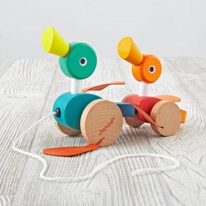 Brinquedos de Puxar e Empurrar