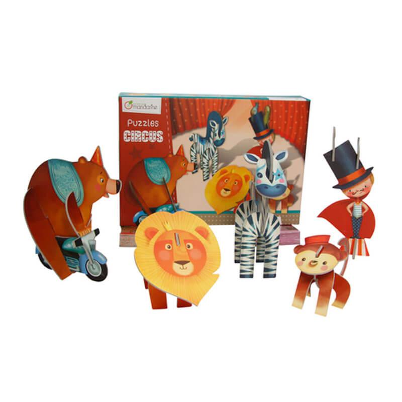 Puzzle 3D Circo