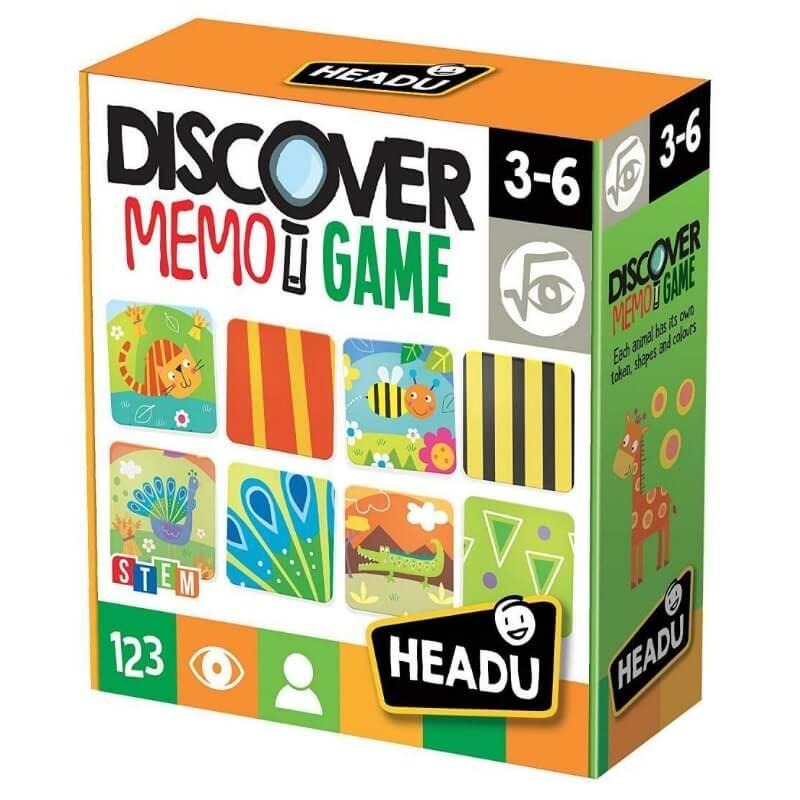 Jogo Discover Memo