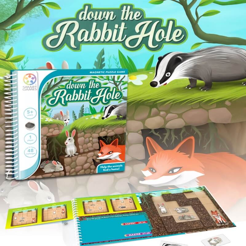 Jogo Down the Rabbit Hole