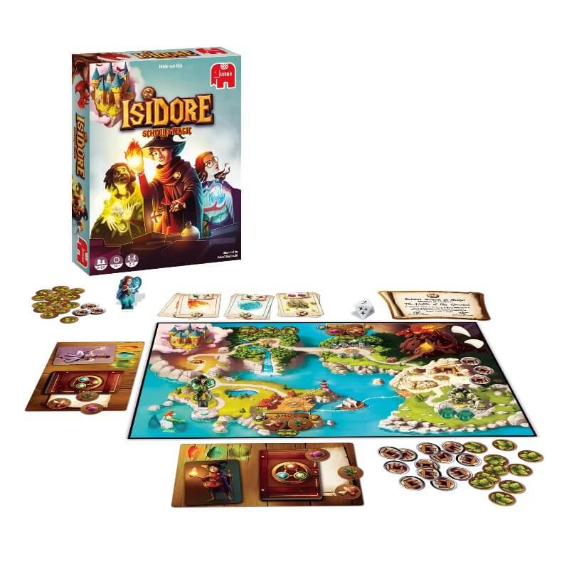 Jogo Isidore - Escola de Magia