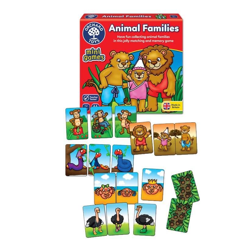 Mini Jogo Animal Families