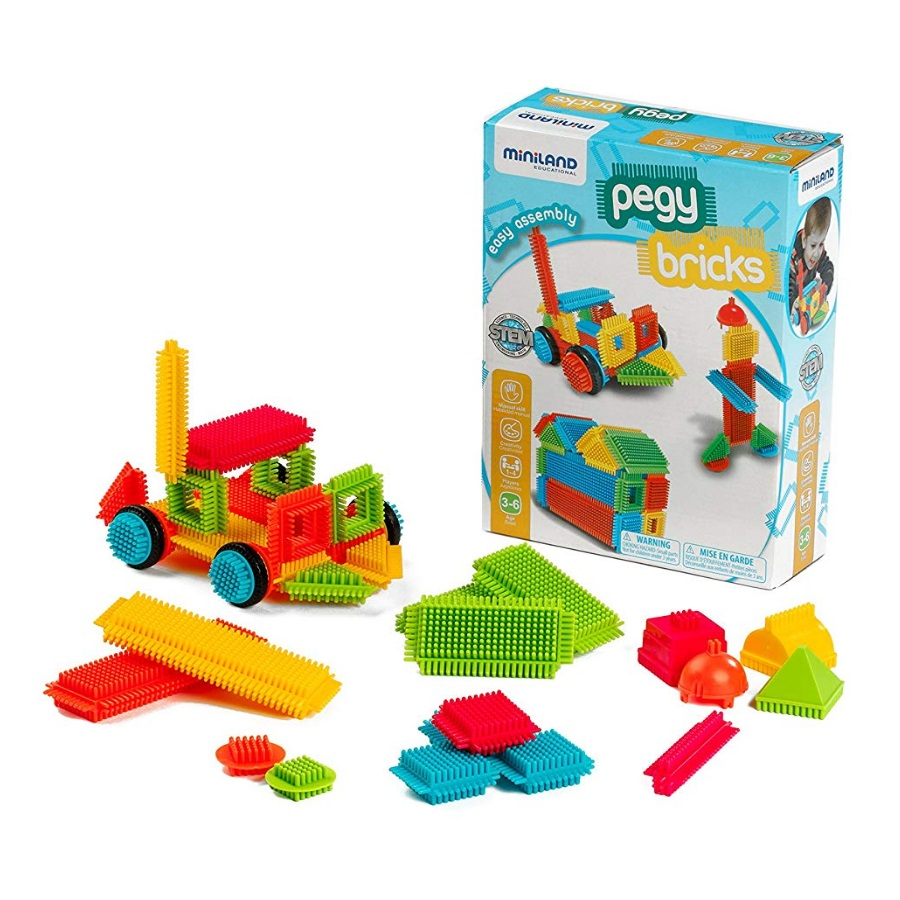 Jogo Pegy Bricks
