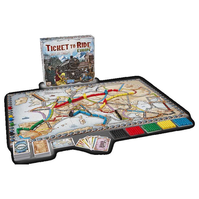 Jogo ticket to Ride Europa