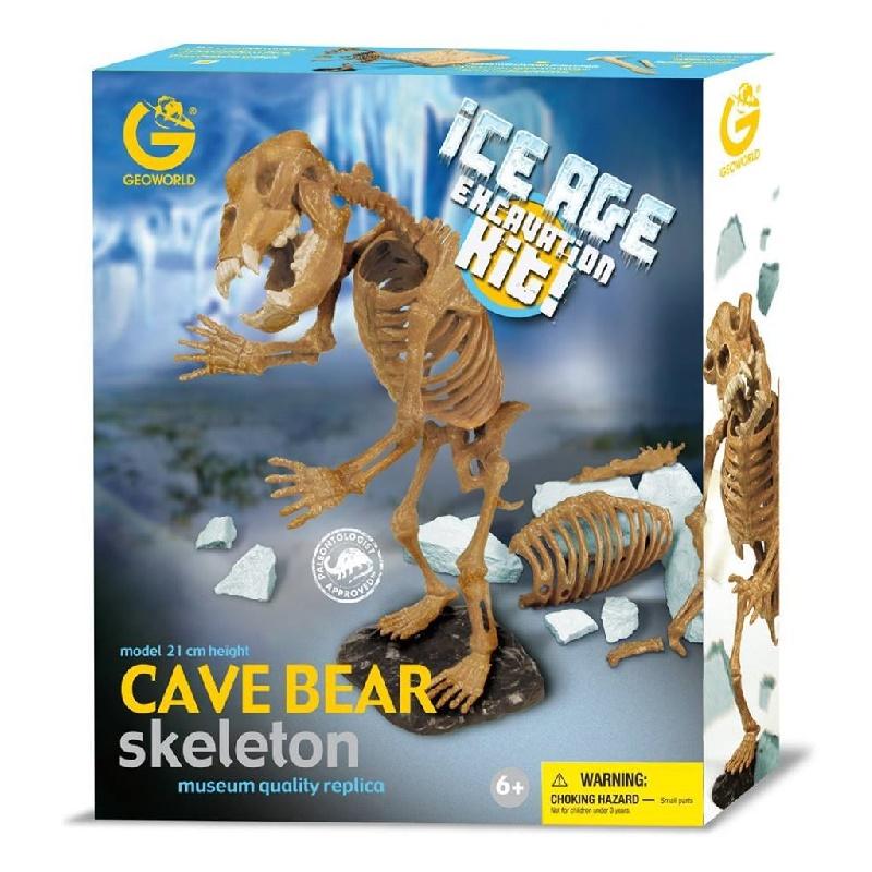 Kit de Escavação Urso das Cavernas