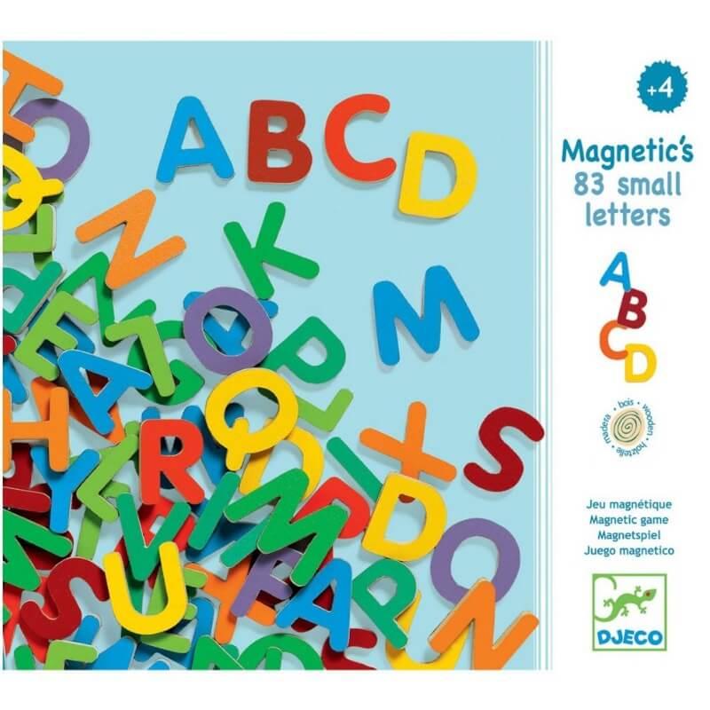 Letras Maiúsculas Magnéticas
