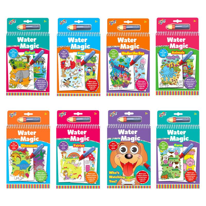 Livros Mágicos com Água