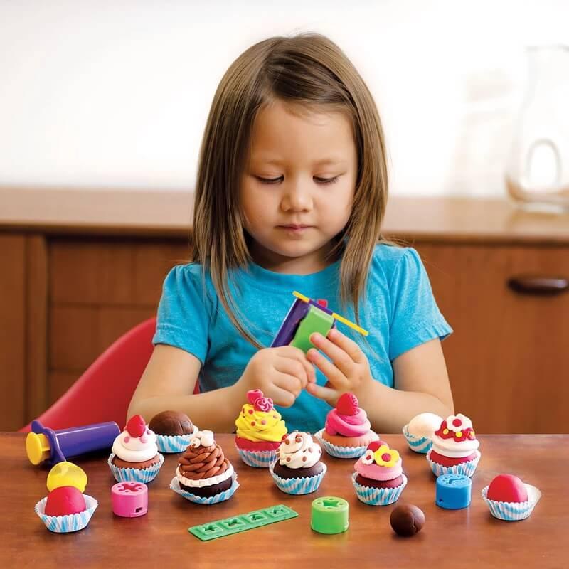 Plasticina Tutti Frutti Set Cupcakes