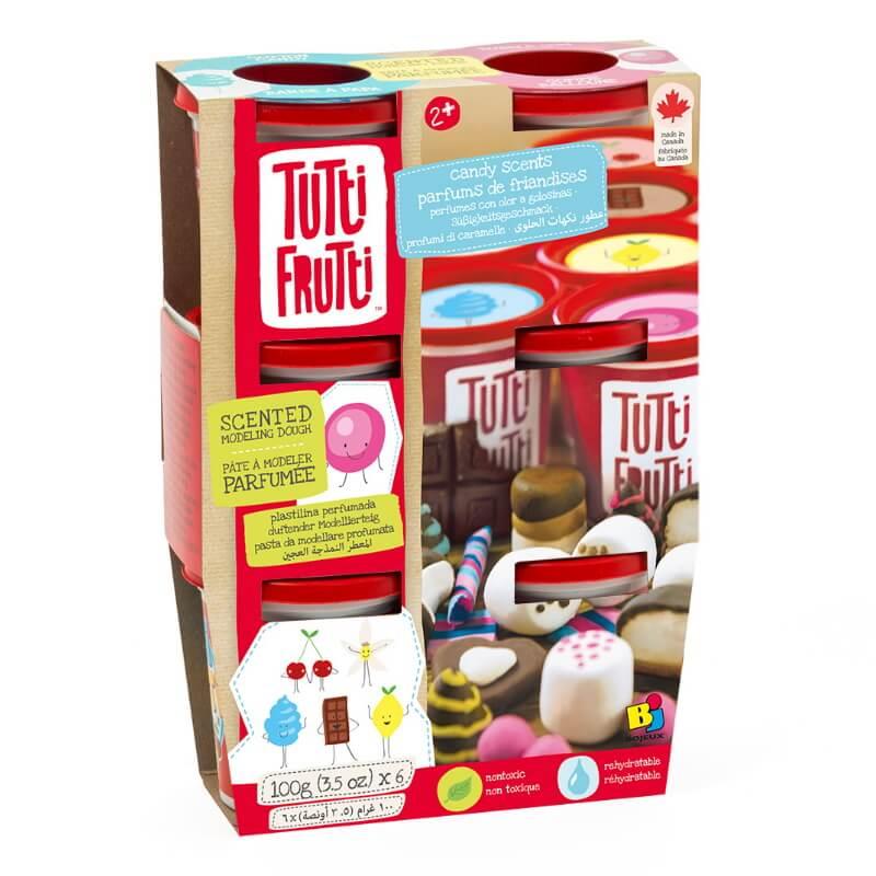Plasticina Tutti Frutti Set Aromas Doces
