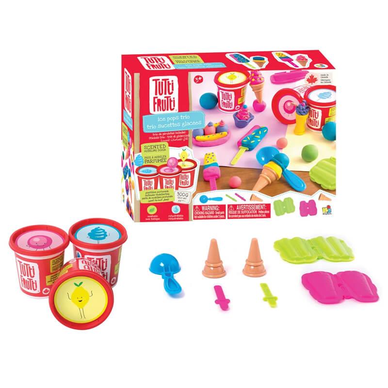 Plasticina Tutti Frutti Set Gelados