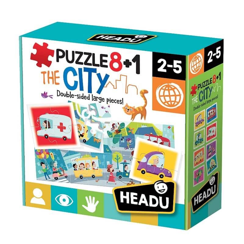 Puzzle 8+1 Cidade