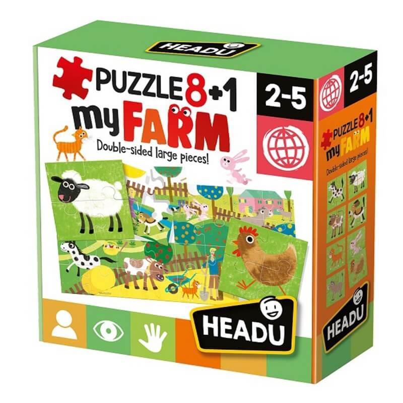 Puzzle 8+1 Quinta