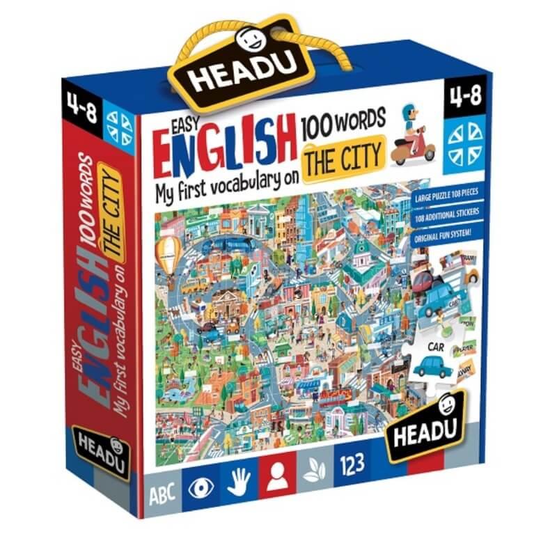 Puzzle Easy English 100 Palavras
