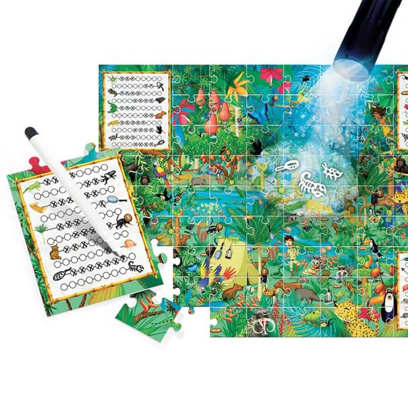 Puzzle Explore Floresta