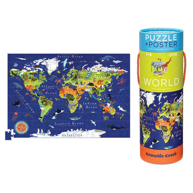 Puzzle Mapa de Mundo