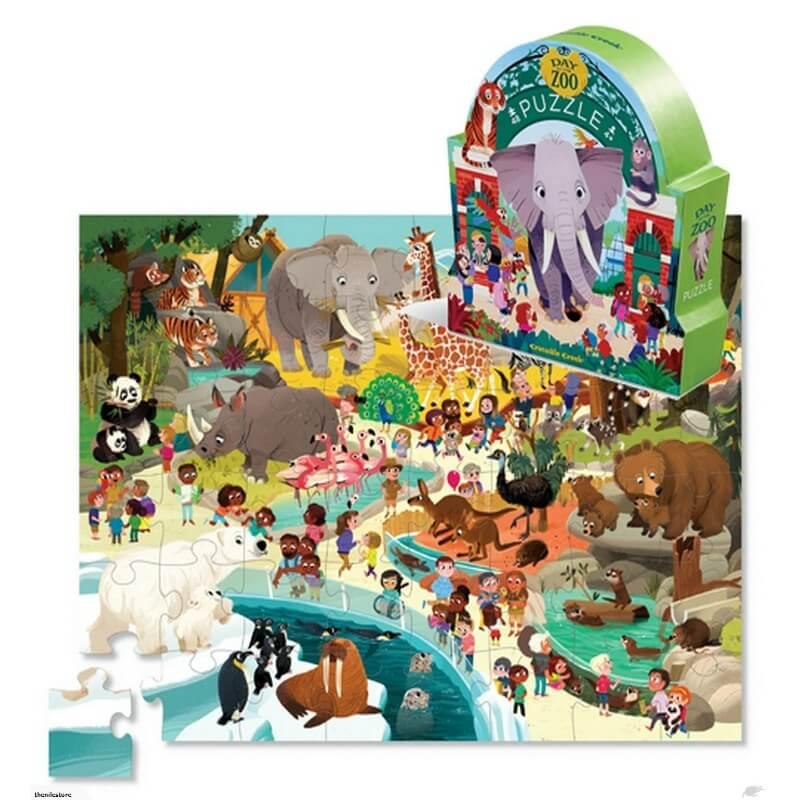 Puzzle Dia no Zoo