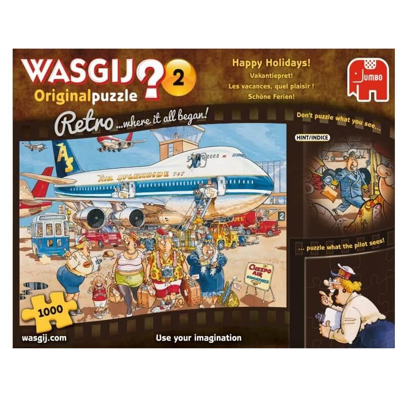 """Puzzle Wasgij - Retro Original - """"Happy Holidays"""""""