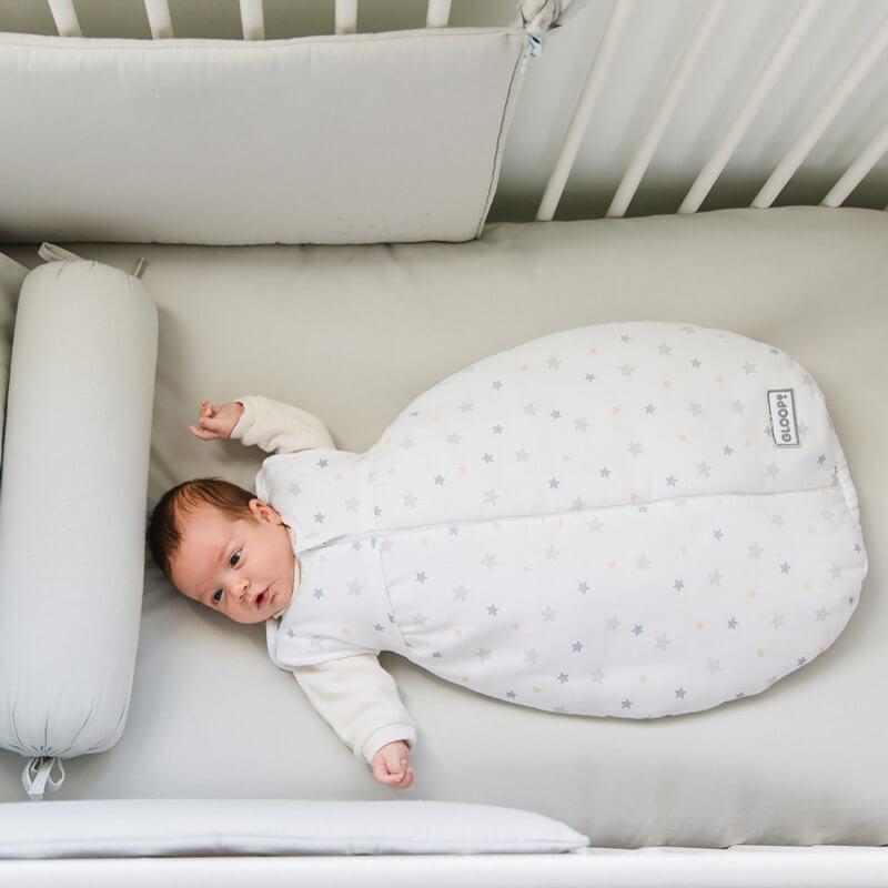 Saco Dormir Algodão Orgânico 0-3M