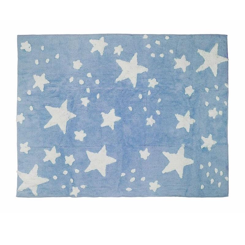 Tapete Chuva de Estrelas Azul