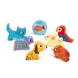 Puzzle de Encaixe Animais Domésticos
