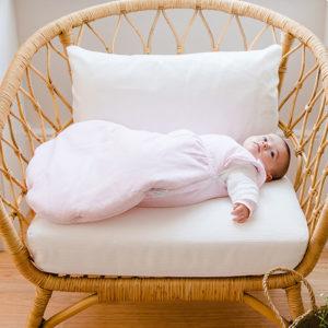 Saco Dormir Algodão Orgânico3-6M