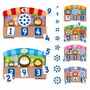Jogo 123 Montessori Touch Bingo