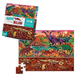 Puzzle Above + Below Dinossauros