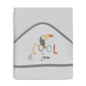 Toalhão do Banho Cool Zoo Cinza