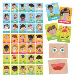Flashcards Emoções e Ações