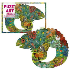Puzzle Camaleão