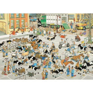 Puzzle Comic - The Cattle Market