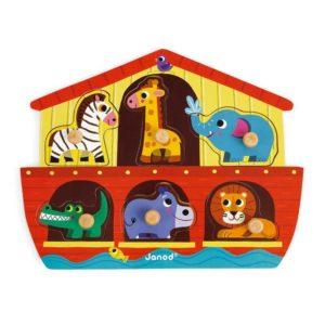 Puzzle de Encaixe Arca de Noé