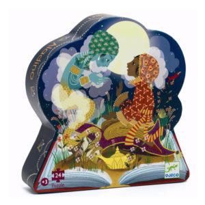 Puzzle Silhueta Aladino