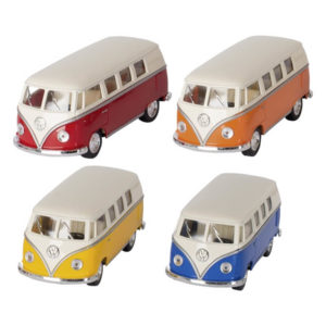 Carro Metal Volkswagen Classic Bus (1962)