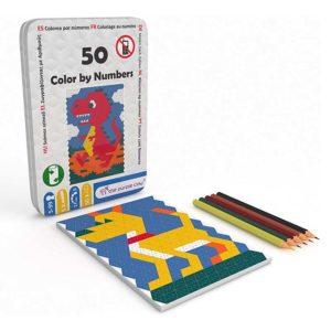 50 Desenhos para Colorir com Números