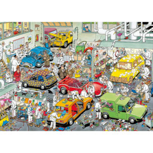 Puzzle Comic - In The Car Respraying Shop