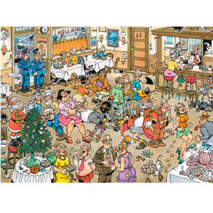 Puzzle Comic - New Year Celebration