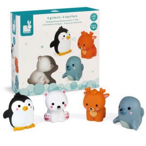 Brinquedo Banho Animais do Gelo