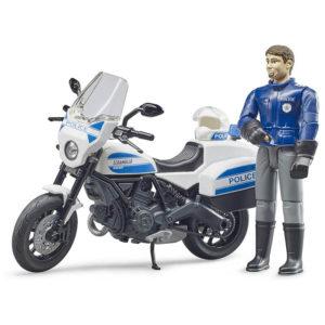 Bruder Scrambler Ducati Polícia